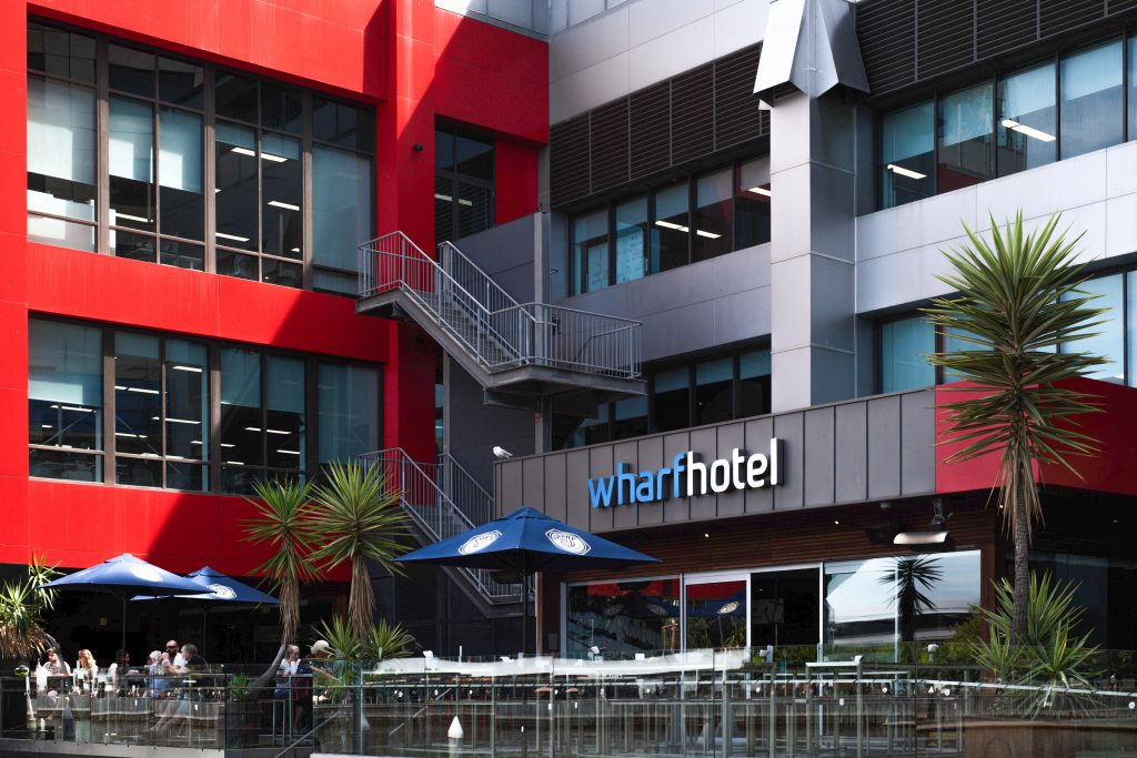WHARF HOTEL NOW OPEN!